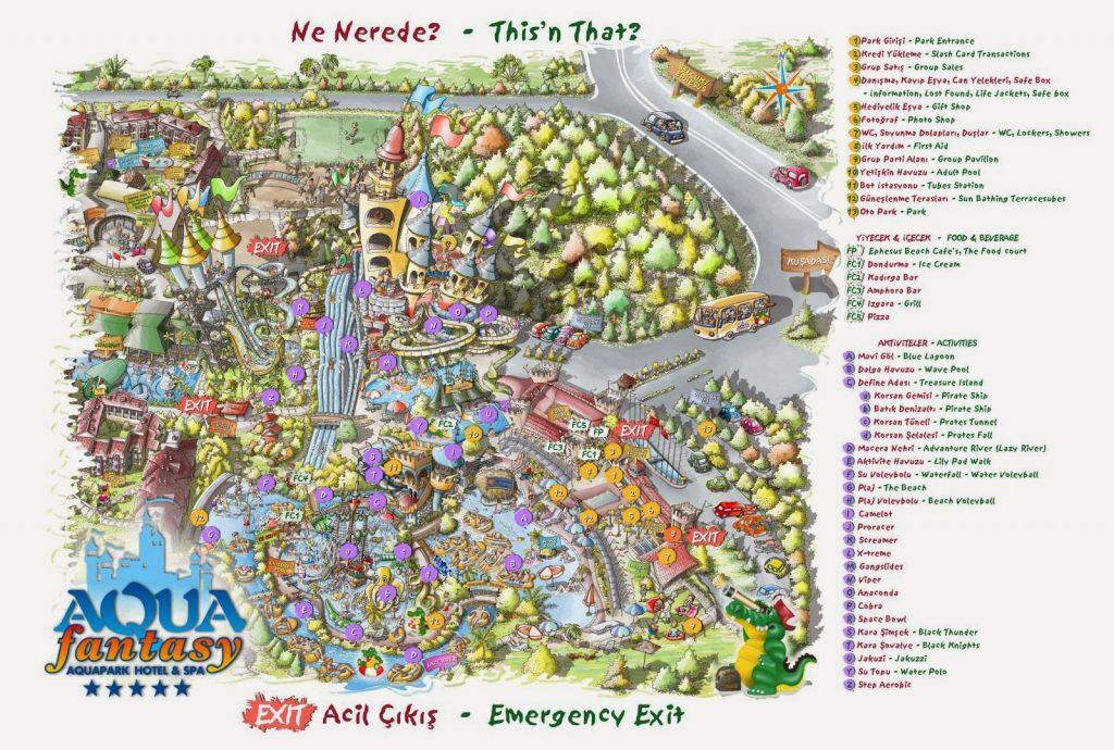 Aqua Fantasy Maps Harita Kroki