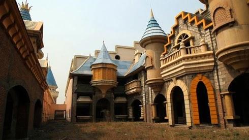 Wonderland Lunaparkı Çin 1