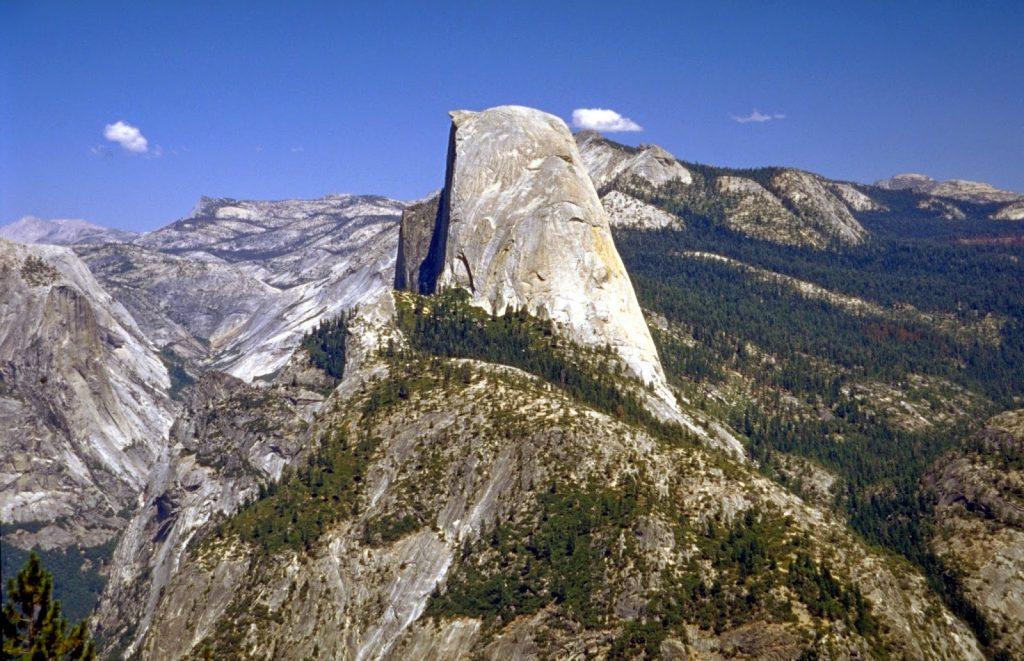 Half Dome Yosemite Ulusal Parkı Kaliforniya