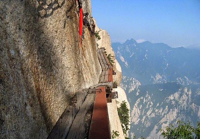 Huasan Dağı Yürüyüşü Çin