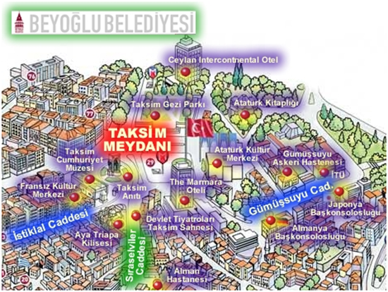 TaksimBeyoğluHaritası