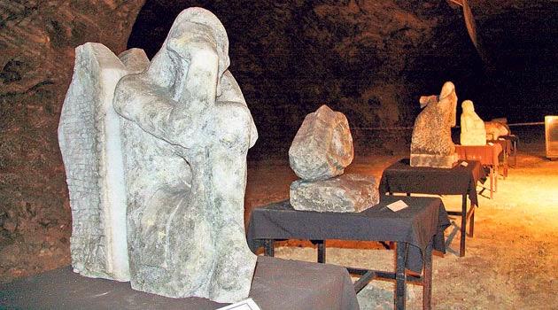 Çankırı Tuz Mağarası Heykeller