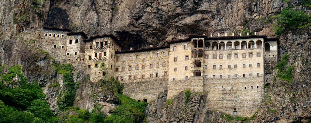 Sümela Manastırı Panoramik