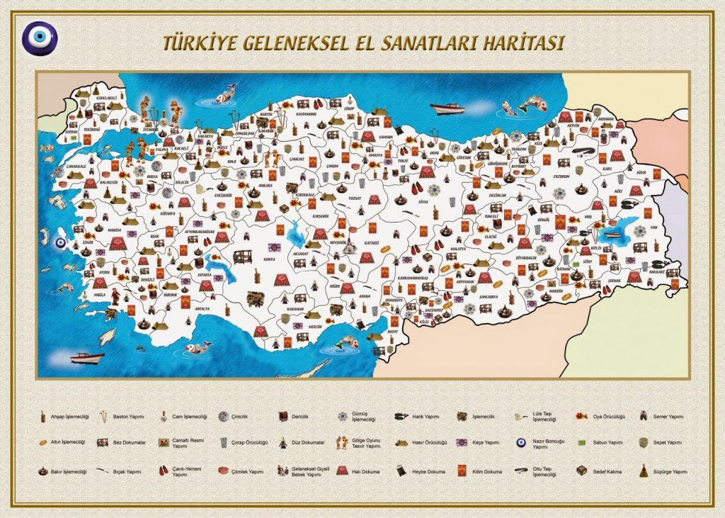Türkiye El Sanatları Haritası
