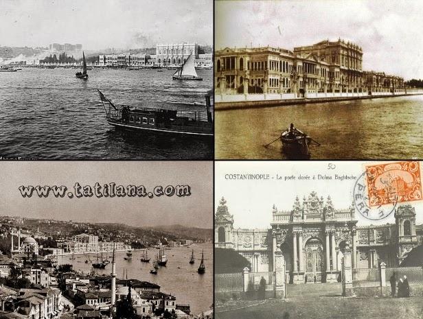 Dolmabahçe Sarayı Tarihi Eski