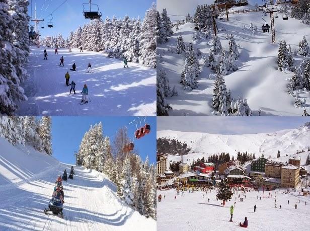 Uludağ Kayak Merkezi Pistler