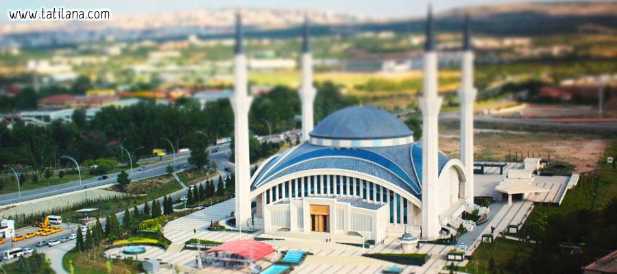 Ankara Ahmet Hamdi Akseki Camii