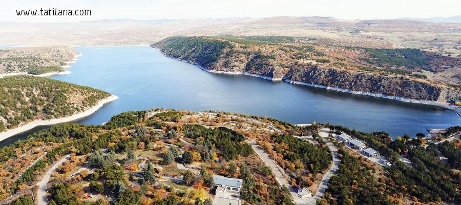 Kurtbogazi Baraji Piknik Alani Ankara
