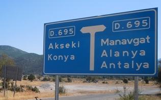 AntalyaC4B0lC3A7eleriKaC3A7Kilometre