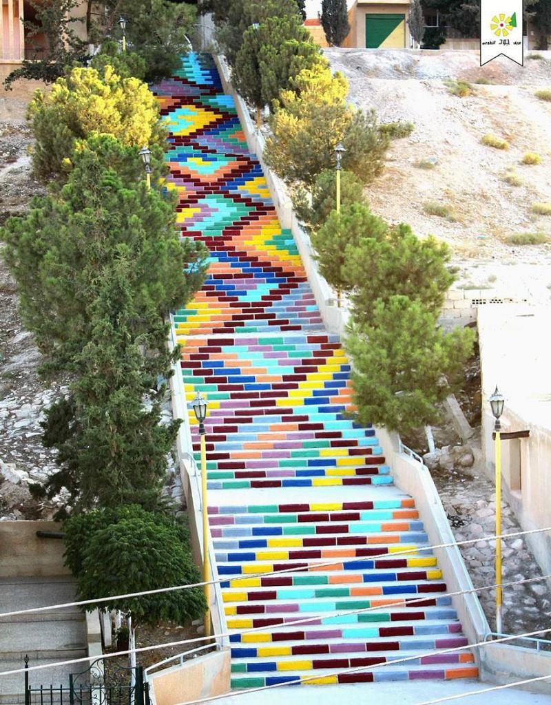 Suriye Renkli Merdivenler