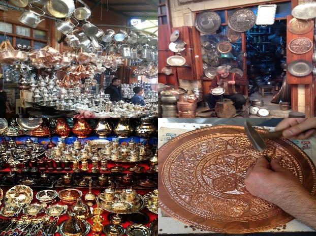 Bakırcılar Çarşısı Gaziantep