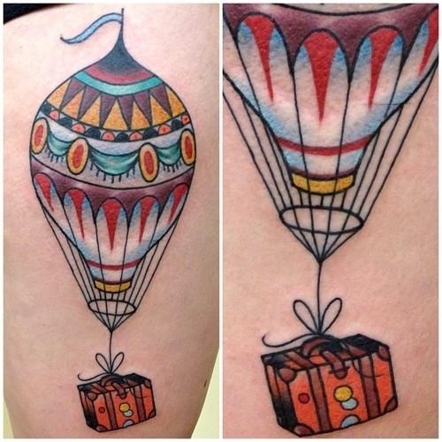 Balon Bavul Dövmesi
