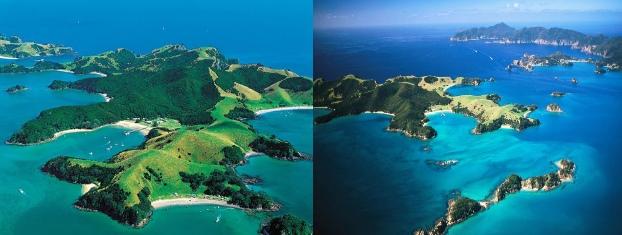Bay of Islands Yeni Zelanda