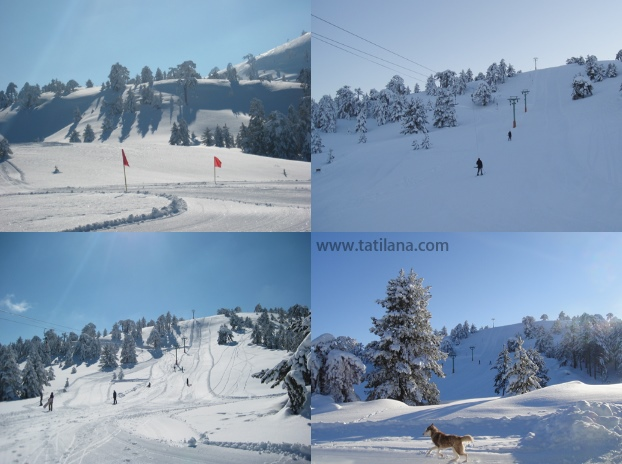 Burdur Salda Kayak Merkezi