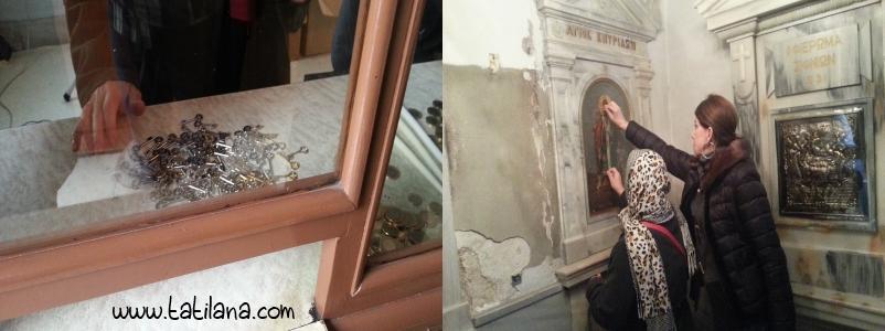 Ayin Biri Kilisesi Anahtarlar