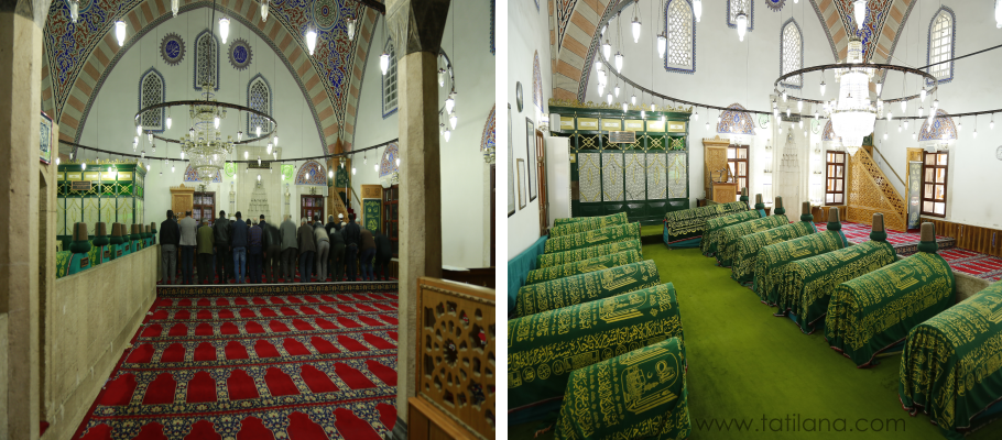 Karaman Aktekke Camii Türbesi
