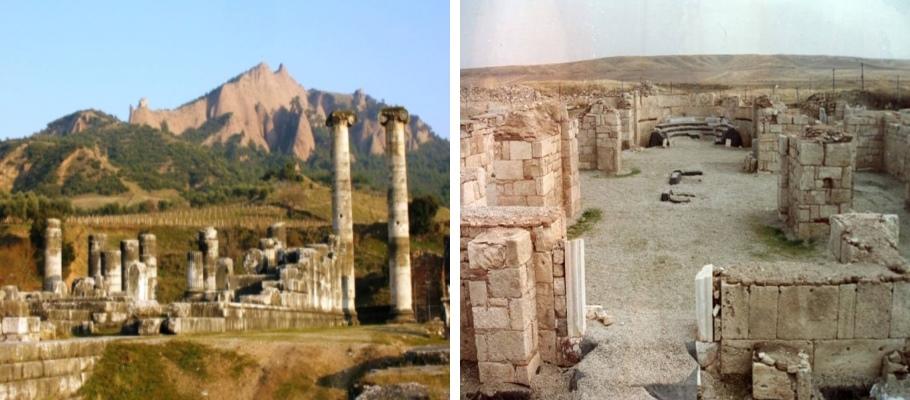 Afyon Apameia Amorium Antik Kentleri