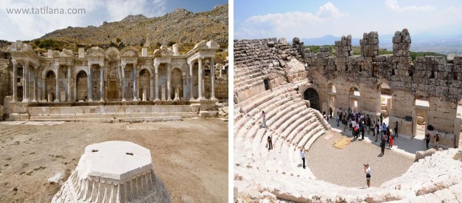 Burdur Sagalassos Antik Kenti 1
