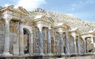 Burdur Sagalassos Antik Kenti