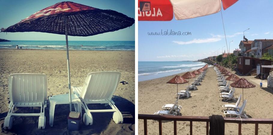 Samsun Yakakent Blue Sea Plajı