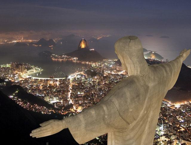 Corcovado Dagi Rio de Janeiro
