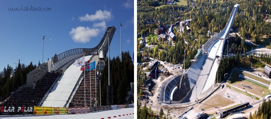 Holmenkolle Atlama Kulesi Oslo