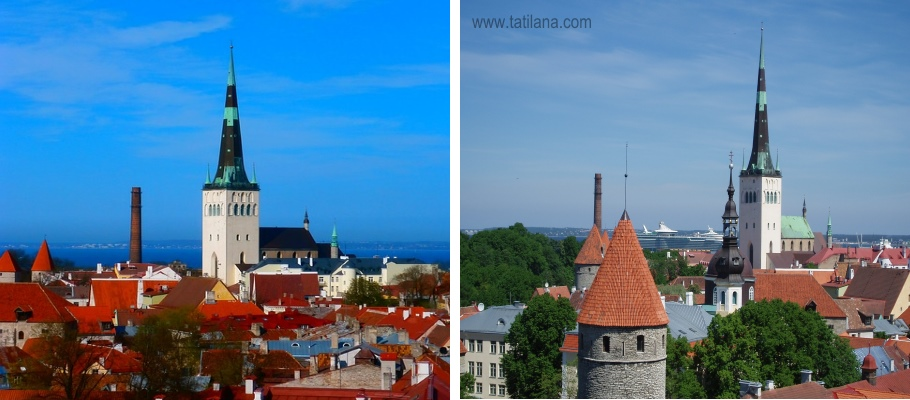 Oleviste Kilisesi Tallinn 1