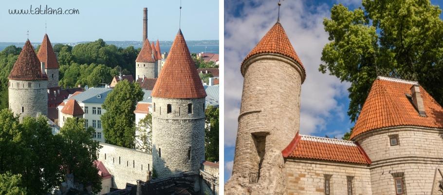 Tallinn Savunma Kuleleri