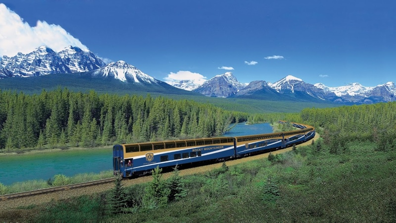 The Rocky Mountaineer Tren