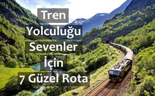 tren yolculugu rotalari