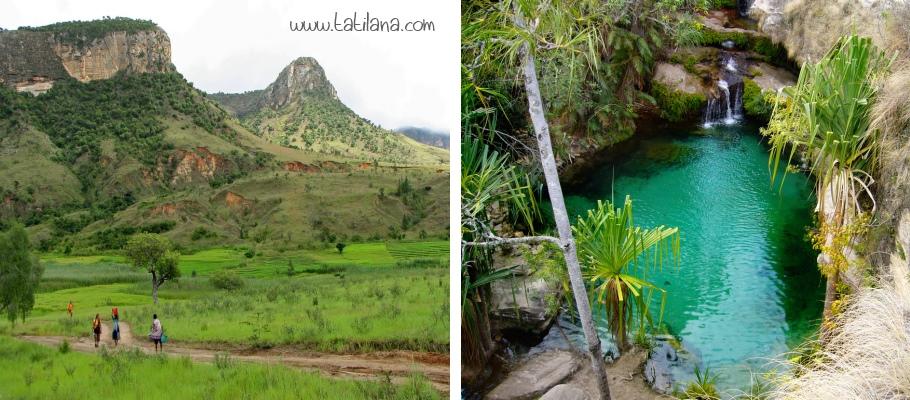 Isalo Ulusal Parki Madagaskar