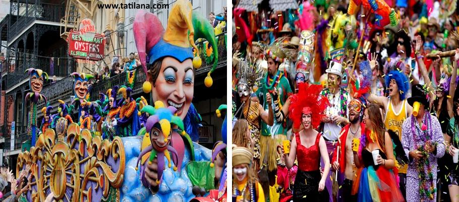 Mardi Gras Festivali New Orleans