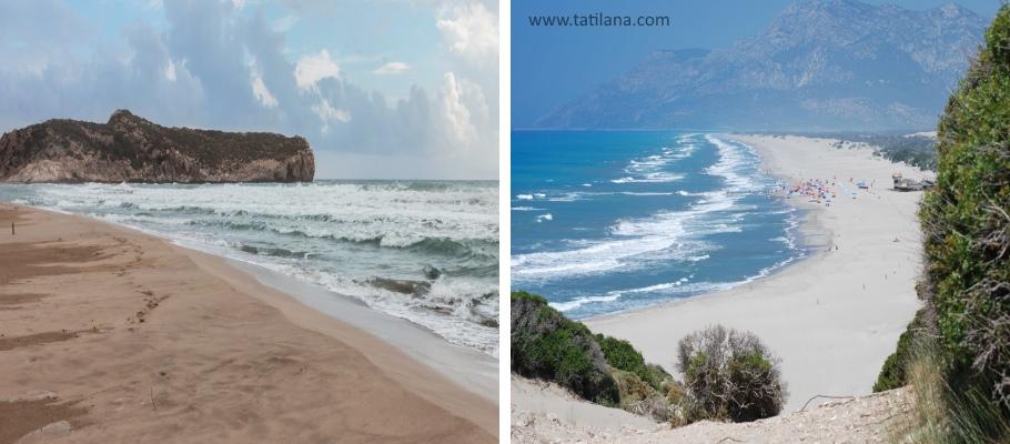 Antalya Kas Patara Plaji