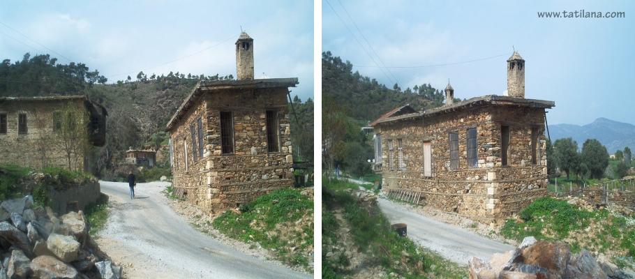 Mersin Anamur Koy Evleri