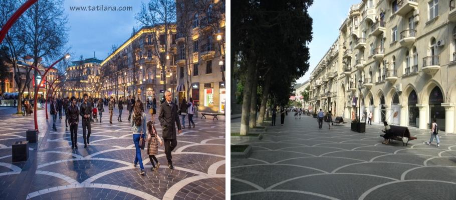 Nizami Caddesi Baku