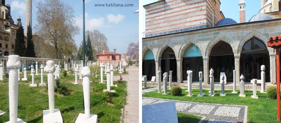Osmanli Tas Eserleri Sergi Alani Edirne 1
