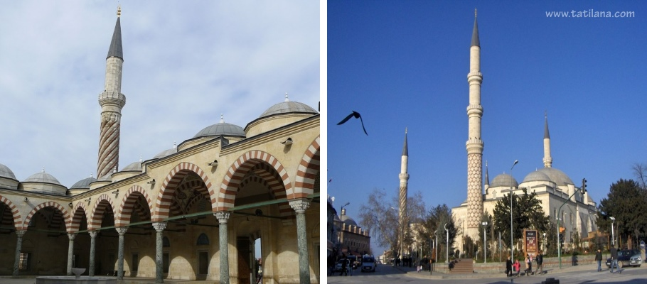 Uc Serefeli Camii Edirne 1