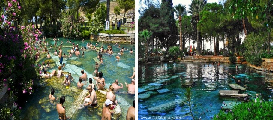 Denizli Pamukkale Antik Havuz 1