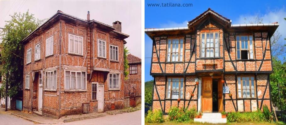 Akcakoca Tarihi Mahalle Evleri