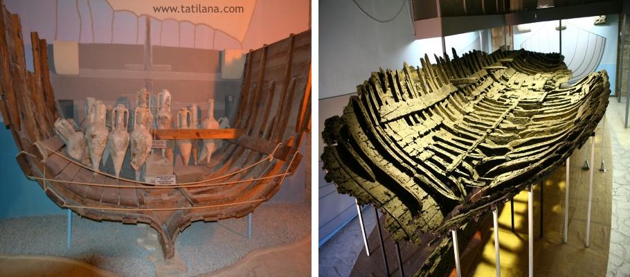 Girne Kalesi Batik Gemi Muzesi