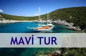 Turkiye Mavi Tur Rotalari