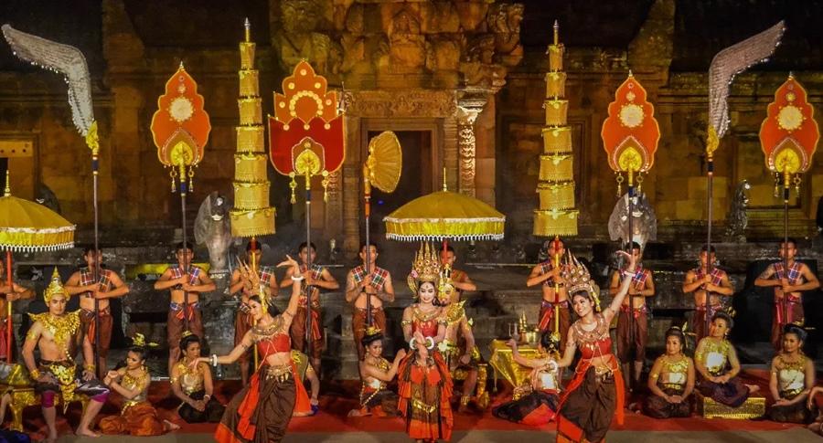 Phanom Rung Festivali Tayland