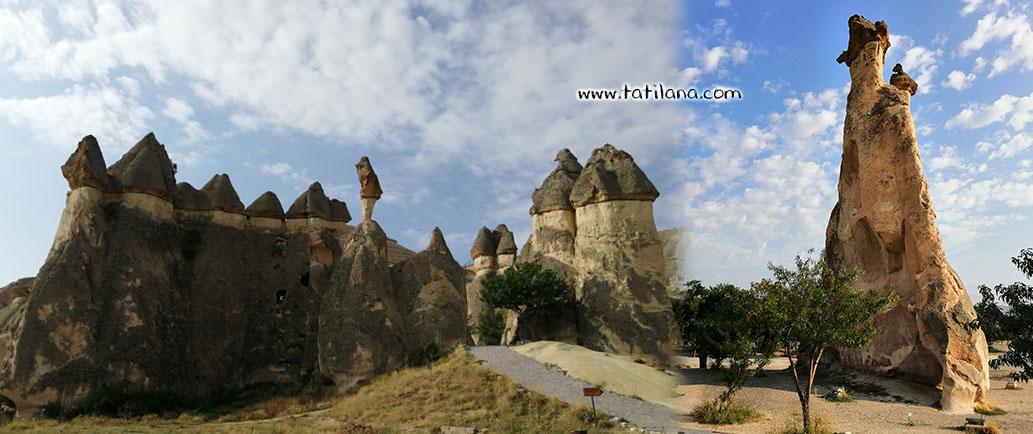 Kapadokya Pasabaglari Oren Yeri