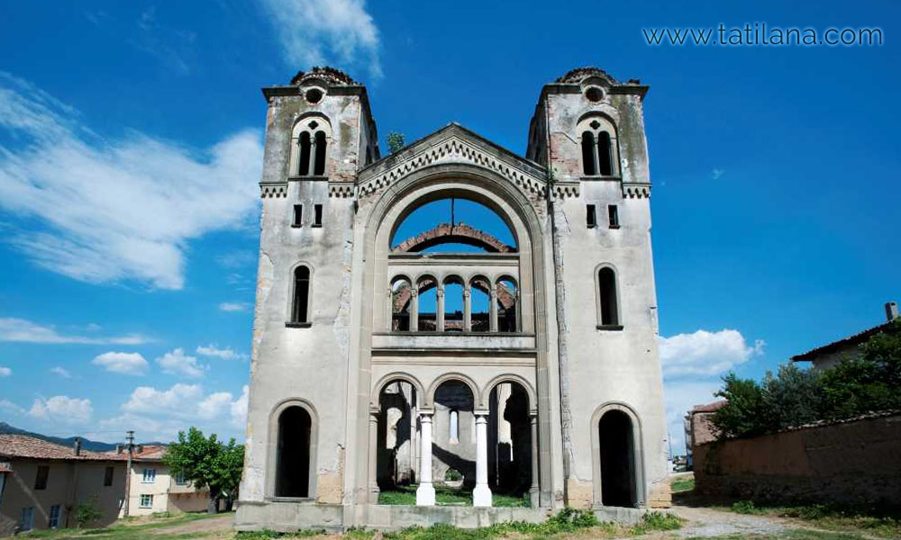 bilecik hagios georgios kilisesi