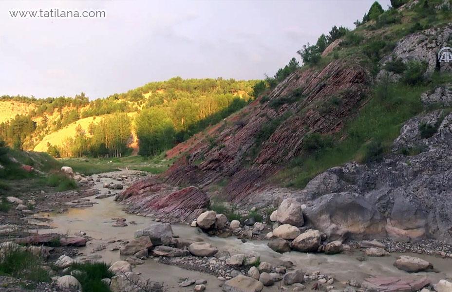bilecik harmankaya kanyonu