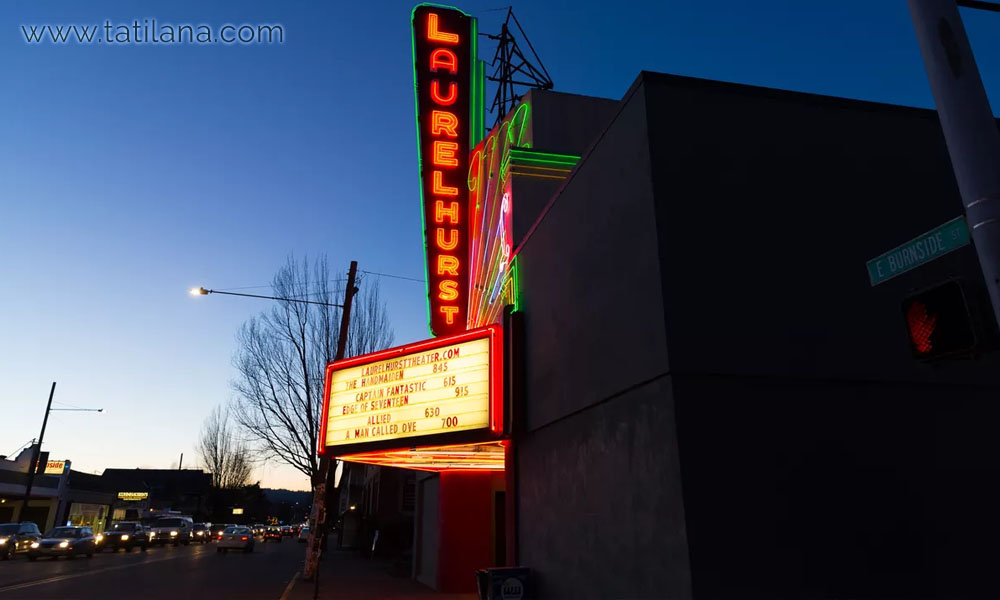 portland laurelhurst tiyatrosu
