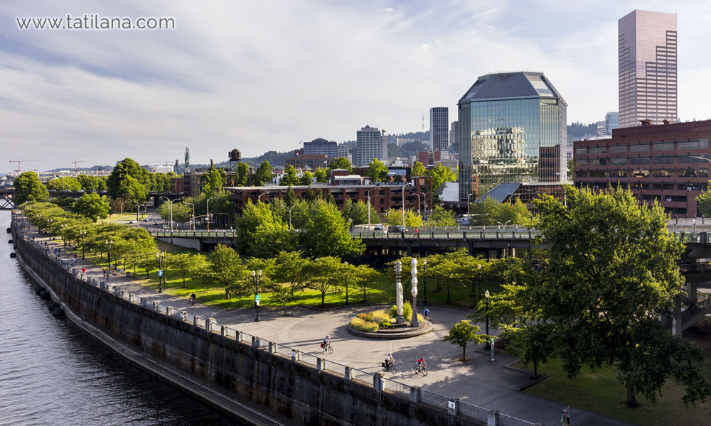 portland waterfront park